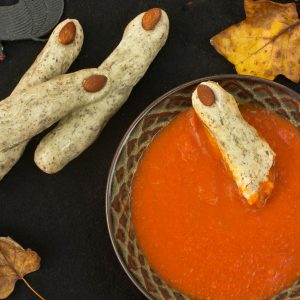 Witches' Fingers and Terrorific Tomato Soup