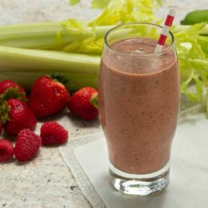 Four Veggie Blast Smoothie