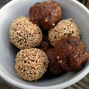 Fudgy Fig Balls