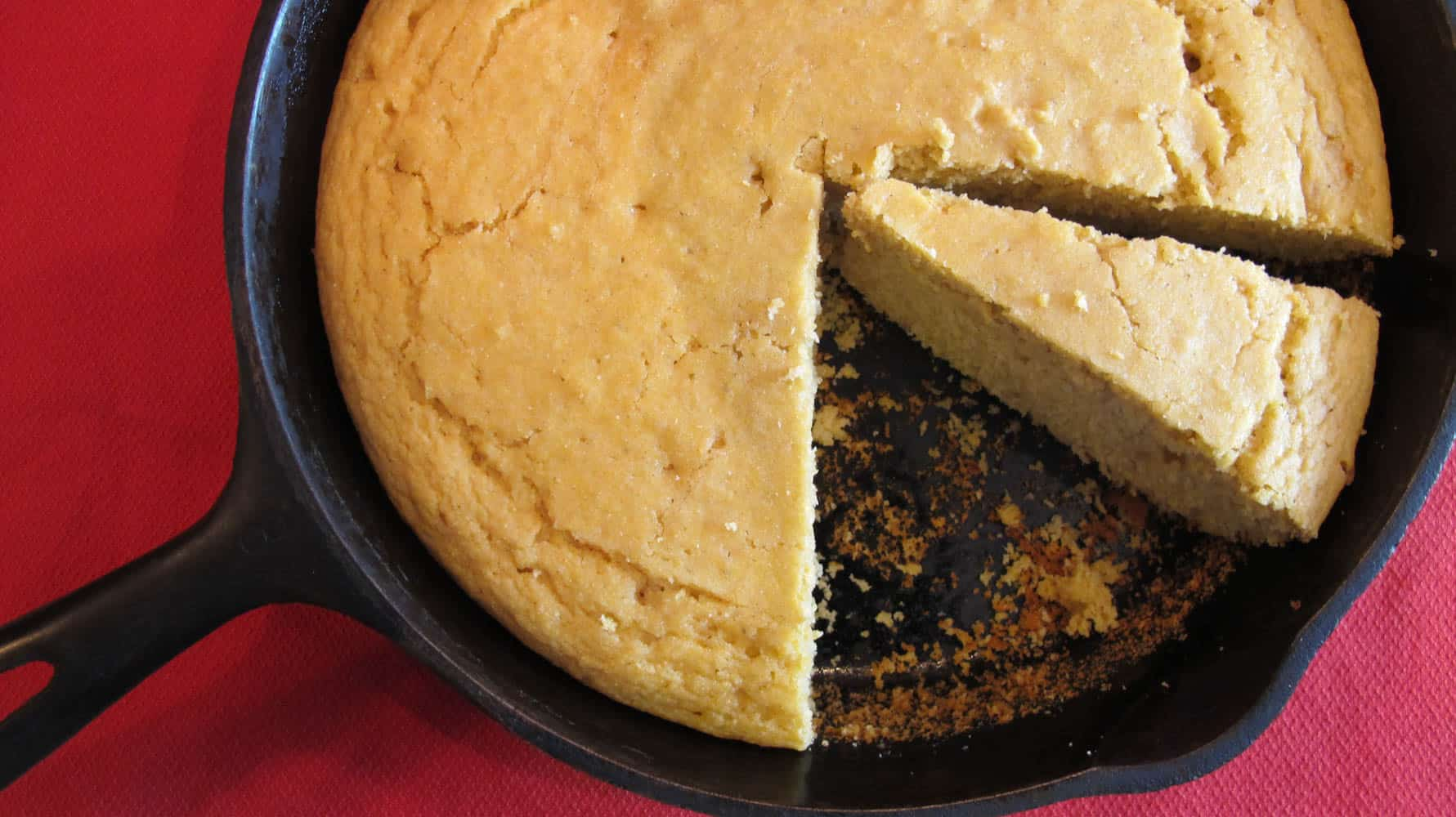 Sweet Whole Wheat Cornbread
