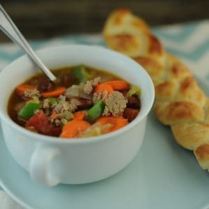 Turkey or Beef and Vegetable Stew