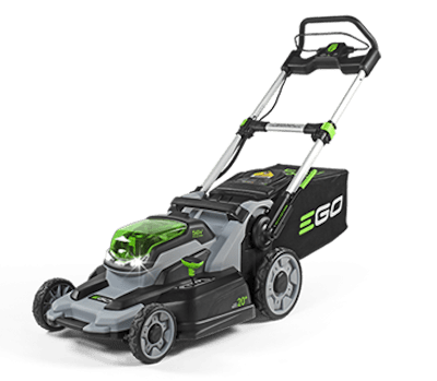 I Have a Healthy EGO—You Can, Too!  EGO Mower Cuts the Grass and Pollution