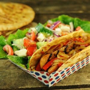 Grilled Quicki Souvlaki Sandwiches