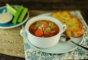 Italian Peasant Soup Minestrone