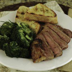 Savory Spice-Rubbed Steak-
