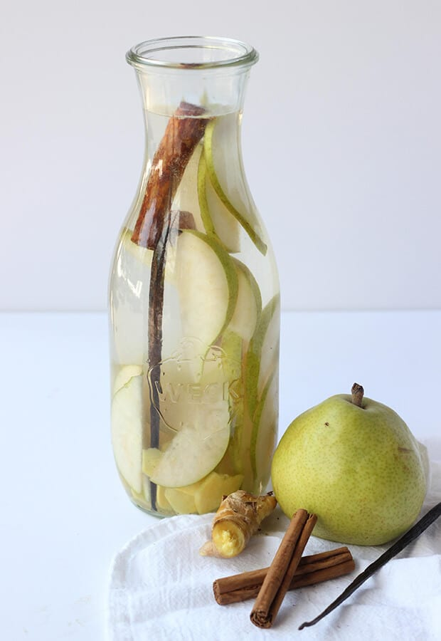 Vanilla Pear Water Flavored Water Recipes