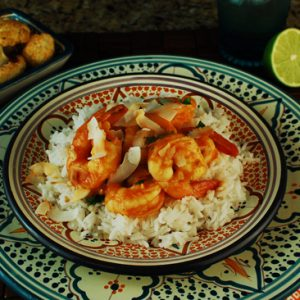 Curried Coconut Shrimp