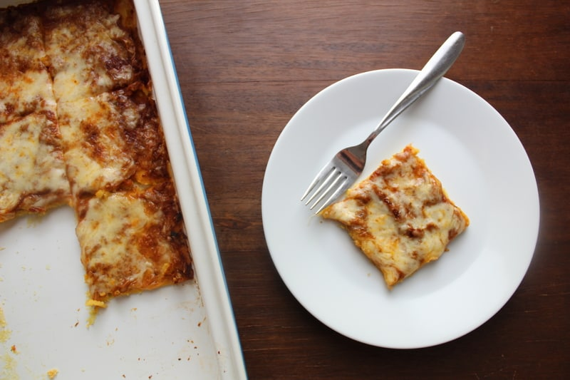 Protein Pizza Squares