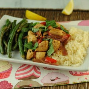 Thai Garlic and Basil Chicken