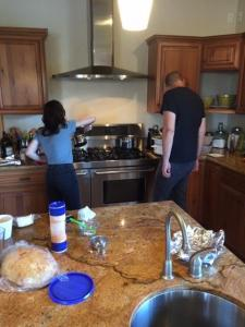 Cooking with Family