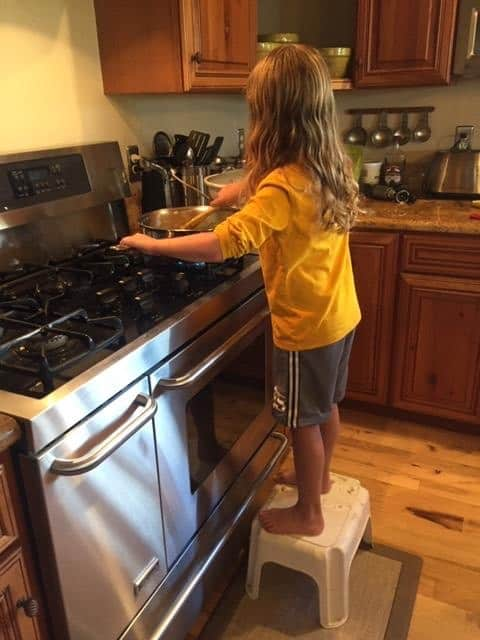 Kid Cooking