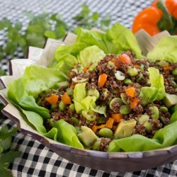 Super Foods Salad with Cilantro-Avocado Dressing