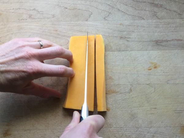Butternut Squash Strips