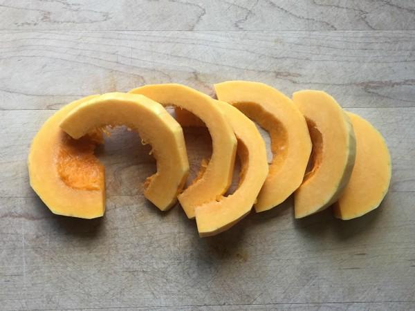 Butternut Squash Semicircles