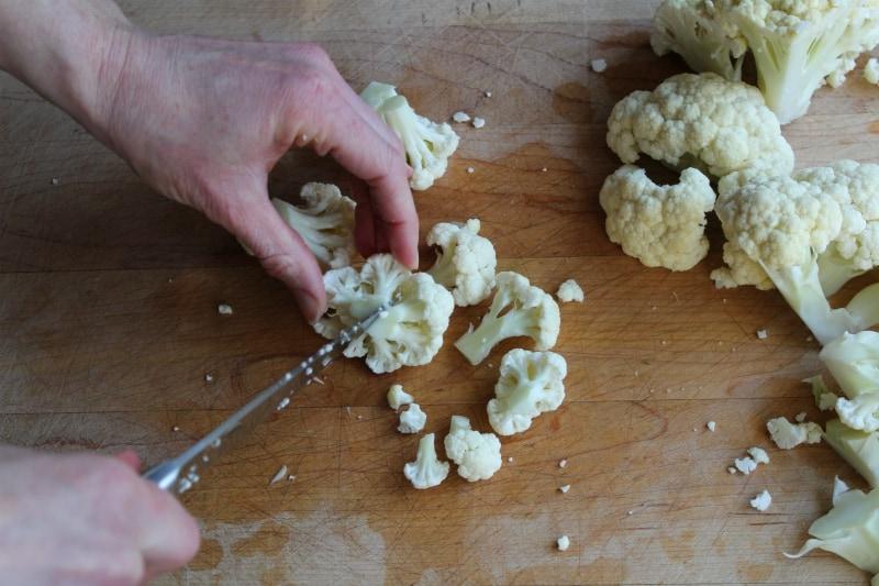 Cutting florets