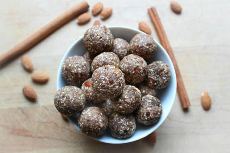 Almond-Date Spice Balls