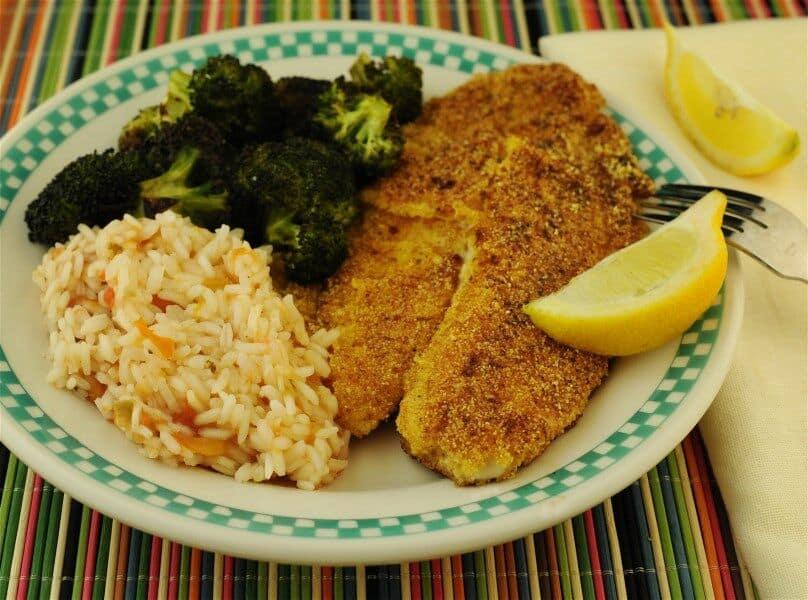 Cornmeal Crusted Catfish