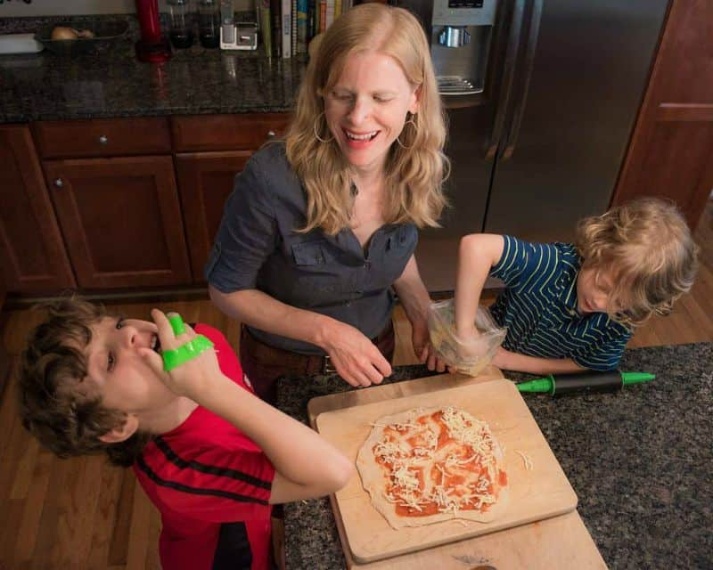 Teaching Kids Self Sufficiency in the Kitchen