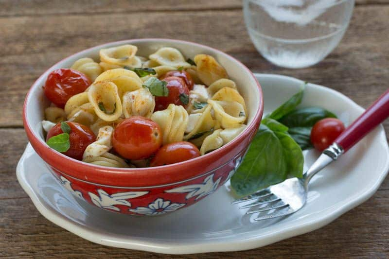 Crazy Caprese Pasta a family dinner share winner