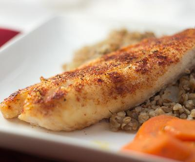 Light and Limey Baked Fish