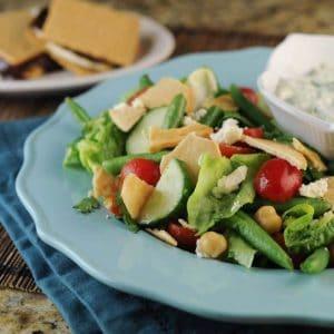 Middle Eastern Fattoush Salad