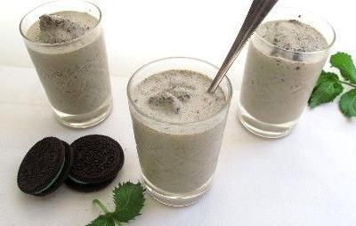 Mint Chocolaty Crunch Shake