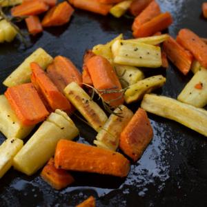 Roasted Parsnips or Carrots