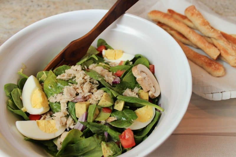 Super Charged Spinach Salad