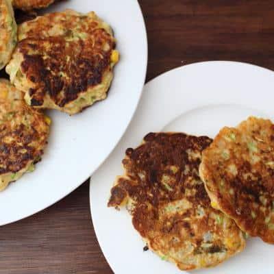 Zucchini-Corn Pancakes