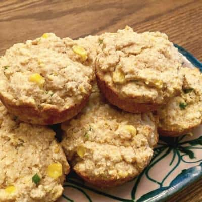 Feta Jalapeño Corn Muffins