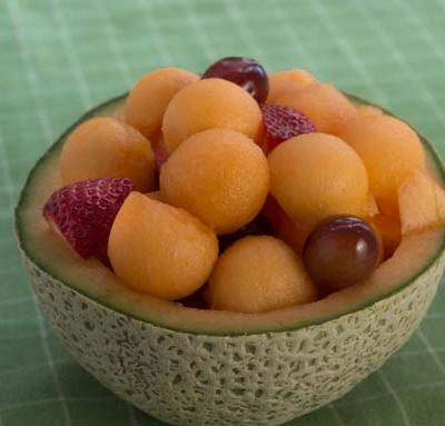Fruit Salad with Lime Dressing