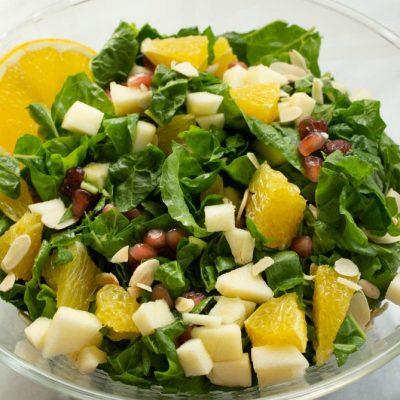 Fruity Winter Kale Salad