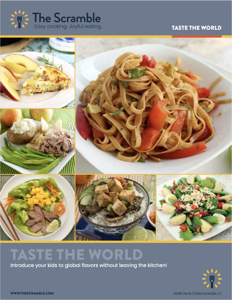 Taste the world cover