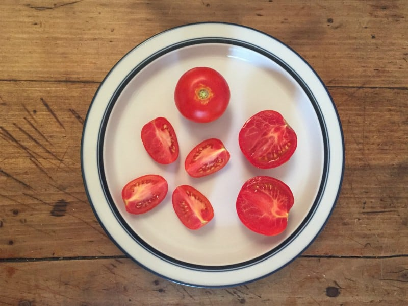 Tomatoes fractions
