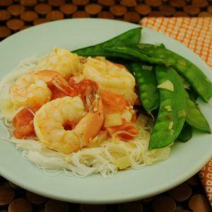 Tropical Shrimp or Chicken