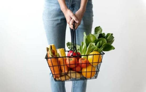 grocery basket small