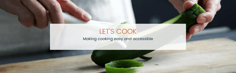 Let's Cook Header
